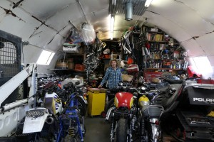 Bike and parts heaven!