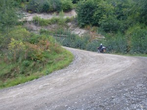 One of the many switchbacks