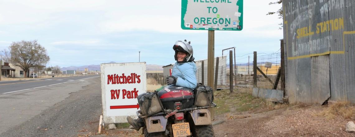 TAT Day 102 (McDermitt, Nevada to Fields, Oregon)