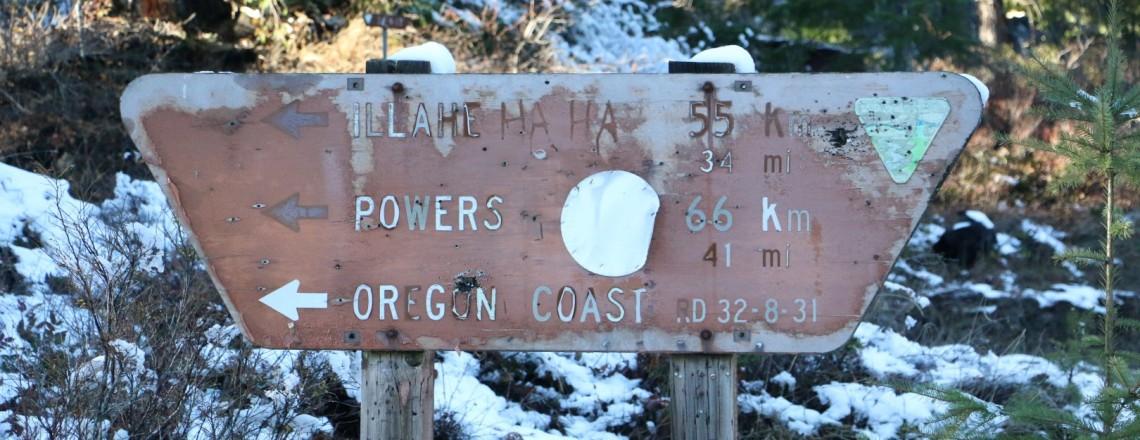 TAT Day 112 (Klamath Falls, Oregon to Port Orford, Oregon)